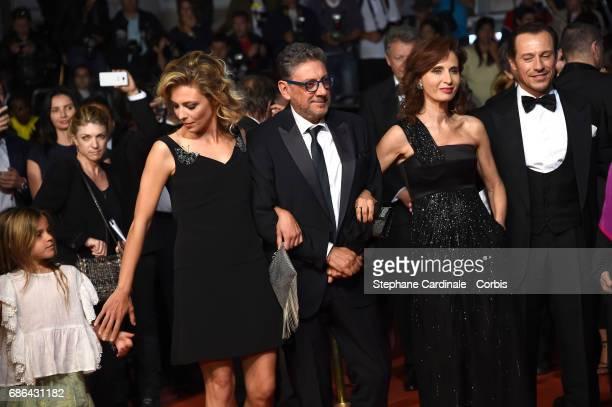 Jasmine Trinca Nicole Centanni director Sergio Castellitto Screenwriter Margaret Mazzantini and Stefano Accorsi of 'Fortunata' attend 'The Meyerowitz...