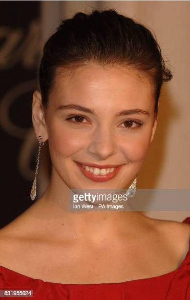 Jasmine Trinca winner of the Best Young Actress award at the Chopard Trophy party at the Carlton Hotel Cannes France