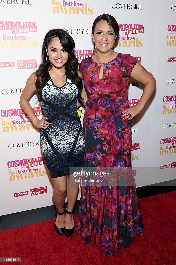 <a gi-track='captionPersonalityLinkClicked' href=/galleries/search?phrase=Jasmine+Villegas&family=editorial&specificpeople=4438076 ng-click='$event.stopPropagation()'>Jasmine Villegas</a> and Michelle Herrera Mulligan attend Cosmopolitan 'Fun, Fearless' Latina Awards at Hearst Tower on June 4, 2014 in New York City.