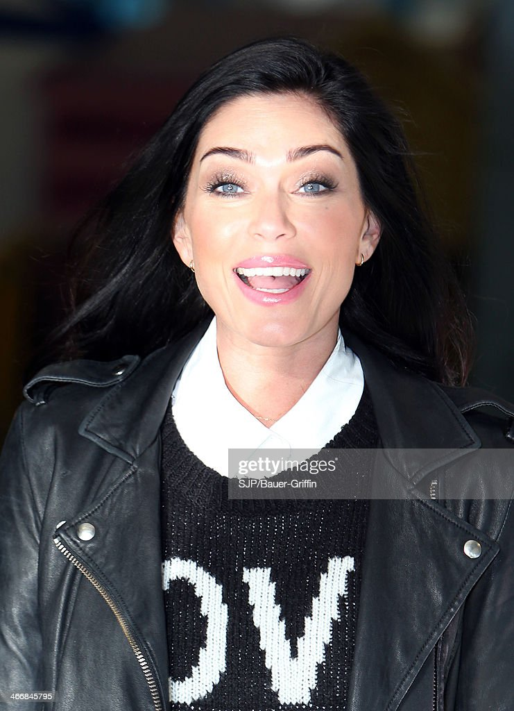 Jasmine Waltz is seen at the London Studios on February 04, 2014 in London, United Kingdom.