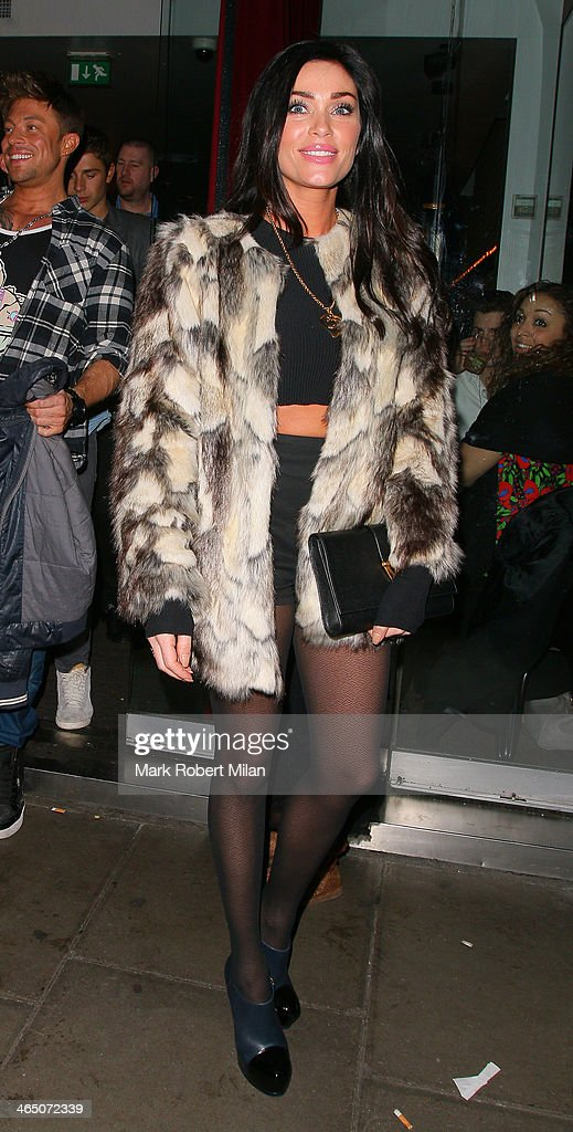 <a gi-track='captionPersonalityLinkClicked' href=/galleries/search?phrase=Jasmine+Waltz&family=editorial&specificpeople=5547506 ng-click='$event.stopPropagation()'>Jasmine Waltz</a> leaving Balans restaurant on January 25, 2014 in London, England.