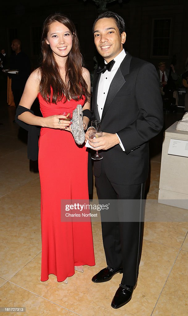 Jasmine Wilson and Adam Moriwaki attend 2013 Multicultural Gala: An Evening Of Many Cultures at Metropolitan Museum of Art on September 23, 2013 in New York City.