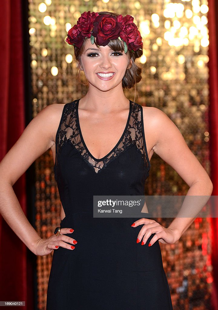 Jasmyn Banks attends the British Soap Awards at Media City on May 18, 2013 in Manchester, England.