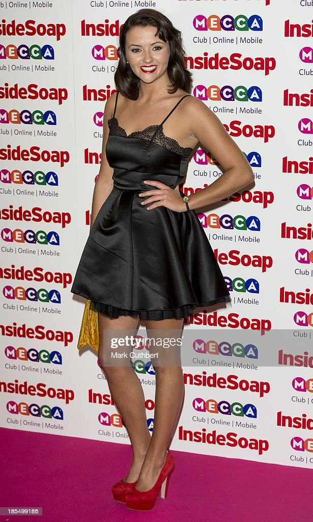Jasmyn Banks attends the Inside Soap Awards at Ministry Of Sound on October 21, 2013 in London, England.