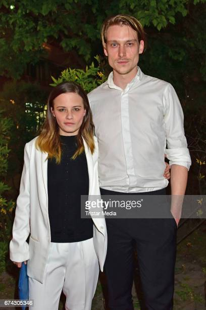Jasna Fritzi Bauer and Daniel Straesser attend the New Faces Award Film at Haus Ungarn on April 27 2017 in Berlin Germany