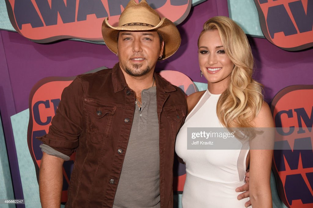<a gi-track='captionPersonalityLinkClicked' href=/galleries/search?phrase=Jason+Aldean&family=editorial&specificpeople=619221 ng-click='$event.stopPropagation()'>Jason Aldean</a> and <a gi-track='captionPersonalityLinkClicked' href=/galleries/search?phrase=Brittany+Kerr&family=editorial&specificpeople=8806858 ng-click='$event.stopPropagation()'>Brittany Kerr</a> attend the 2014 CMT Music awards at the Bridgestone Arena on June 4, 2014 in Nashville, Tennessee.