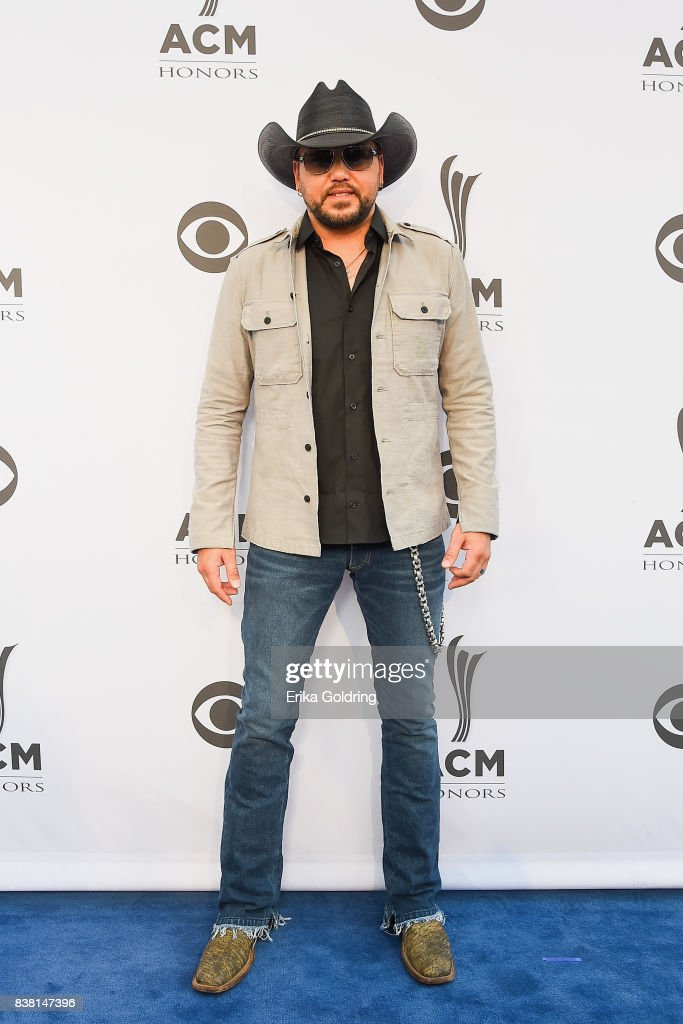 Jason Aldean attends the 11th Annual ACM Honors at the Ryman Auditorium on August 23, 2017 in Nashville, Tennessee.
