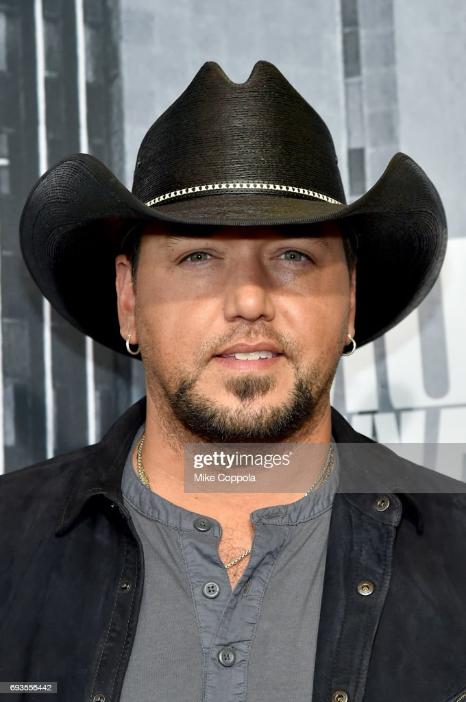 Jason Aldean attends the 2017 CMT Music Awards at the Music City Center on June 7, 2017 in Nashville, Tennessee.