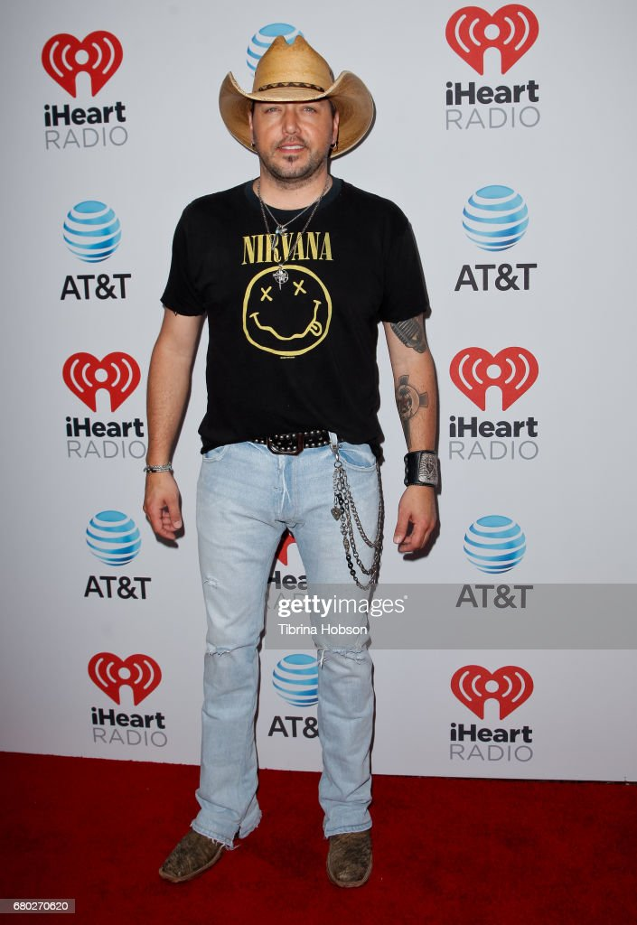 Jason Aldean attends the 2017 iHeartCountry Music Festival at The Frank Erwin Center on May 6, 2017 in Austin, Texas.