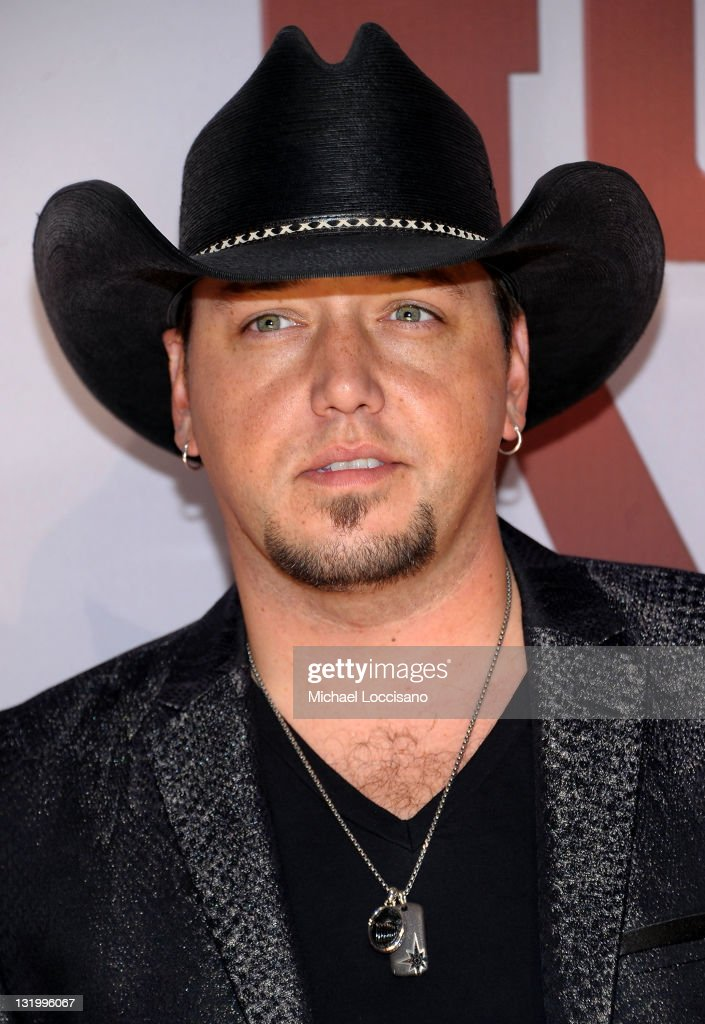 <a gi-track='captionPersonalityLinkClicked' href=/galleries/search?phrase=Jason+Aldean&family=editorial&specificpeople=619221 ng-click='$event.stopPropagation()'>Jason Aldean</a> attends the 45th annual CMA Awards at the Bridgestone Arena on November 9, 2011 in Nashville, Tennessee.