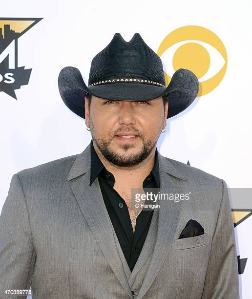 Jason Aldean attends the 50th Academy Of Country Music Awards at ATT Stadium on April 19 2015 in Arlington Texas