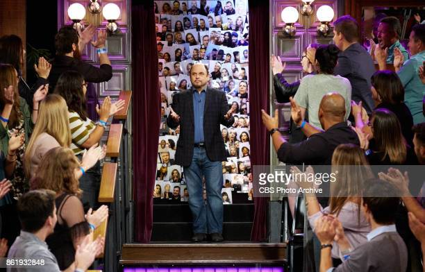 Jason Alexander greets the audience during 'The Late Late Show with James Corden' Tuesday October 10 2017 On The CBS Television Network