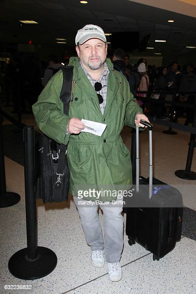 Jason Alexander is seen at LAX on January 20 2017 in Los Angeles California