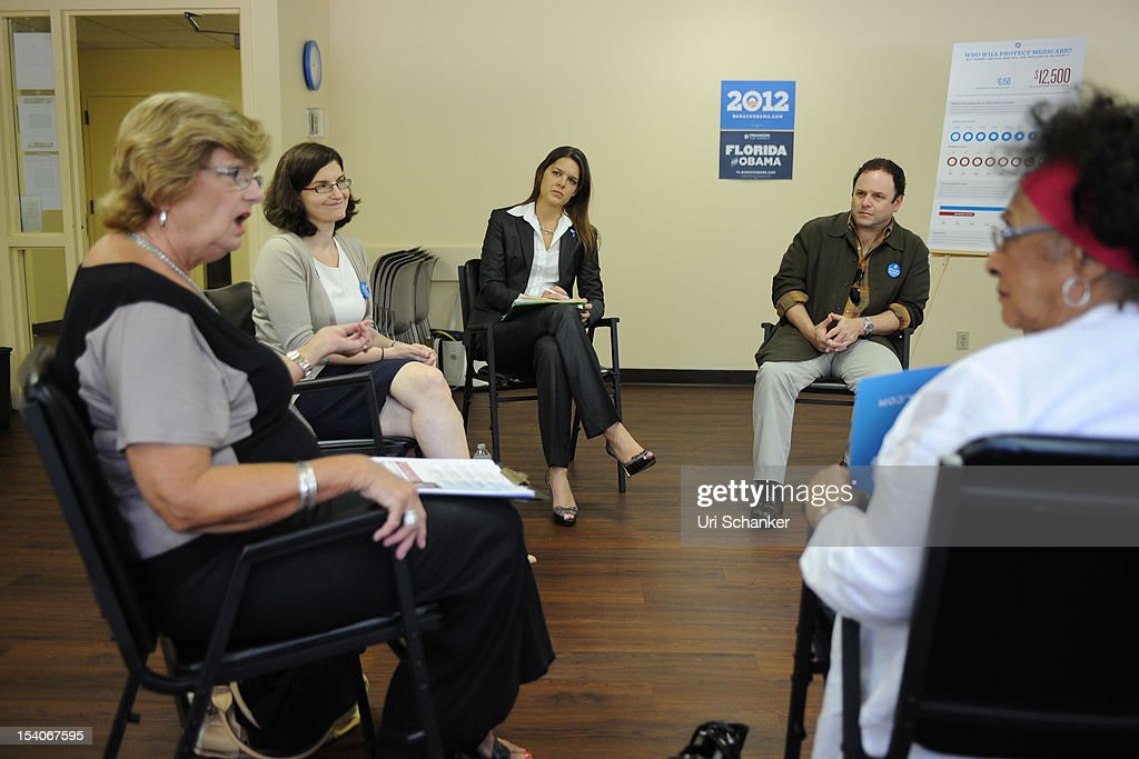 <a gi-track='captionPersonalityLinkClicked' href=/galleries/search?phrase=Jason+Alexander+-+Actor&family=editorial&specificpeople=11399423 ng-click='$event.stopPropagation()'>Jason Alexander</a> joins OFA-Florida for Medicare Round Table with Boca Raton Seniors at the Mae Volen Center on October 13, 2012 in Boca Raton, Florida.