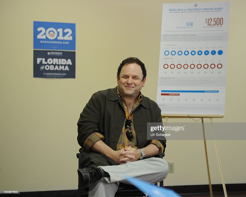 <a gi-track='captionPersonalityLinkClicked' href=/galleries/search?phrase=Jason+Alexander+-+Acteur&family=editorial&specificpeople=11399423 ng-click='$event.stopPropagation()'>Jason Alexander</a> joins OFA-Florida for Medicare Round Table with Boca Raton Seniors at the Mae Volen Center on October 13, 2012 in Boca Raton, Florida.