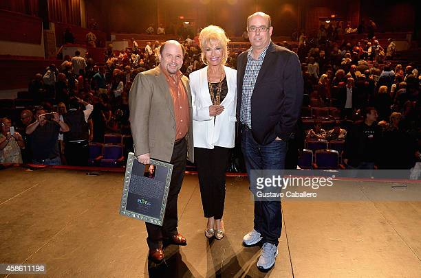 Jason Alexander Pamela Shaw and Christopher Ashley attend 'Lucky Stiff' opening at the 29th Annual Fort Lauderdale Film Festival at Amaturo Theater...