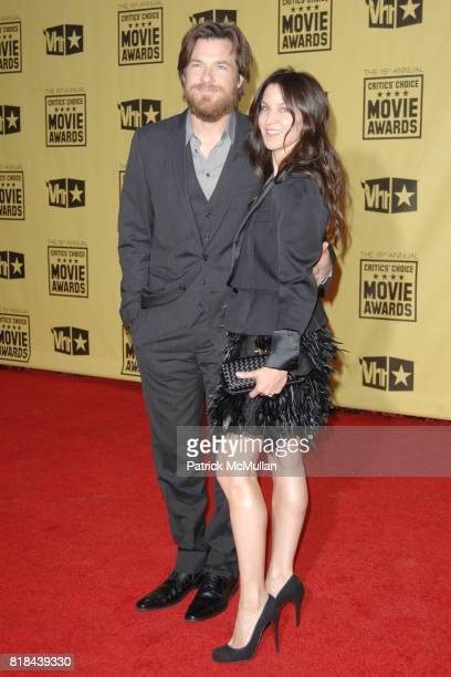 Jason Bateman and Amanda Anka attend 2010 Critics Choice Awards at The Palladium on January 15 2010 in Hollywood California