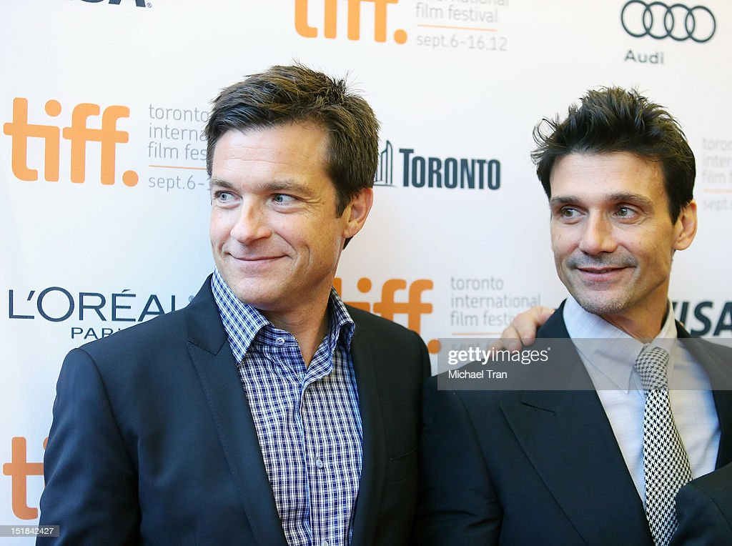 <a gi-track='captionPersonalityLinkClicked' href=/galleries/search?phrase=Jason+Bateman&family=editorial&specificpeople=204774 ng-click='$event.stopPropagation()'>Jason Bateman</a> (L) and <a gi-track='captionPersonalityLinkClicked' href=/galleries/search?phrase=Frank+Grillo&family=editorial&specificpeople=1752839 ng-click='$event.stopPropagation()'>Frank Grillo</a> arrive at 'Disconnect' premiere during the 2012 Toronto International Film Festival held at Princess of Wales Theatre on September 11, 2012 in Toronto, Canada.