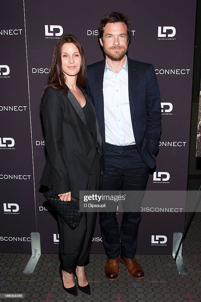 <a gi-track='captionPersonalityLinkClicked' href=/galleries/search?phrase=Jason+Bateman&family=editorial&specificpeople=204774 ng-click='$event.stopPropagation()'>Jason Bateman</a> (R) and wife <a gi-track='captionPersonalityLinkClicked' href=/galleries/search?phrase=Amanda+Anka&family=editorial&specificpeople=2465465 ng-click='$event.stopPropagation()'>Amanda Anka</a> attend the 'Disconnect' New York Special Screening at SVA Theater on April 8, 2013 in New York City.