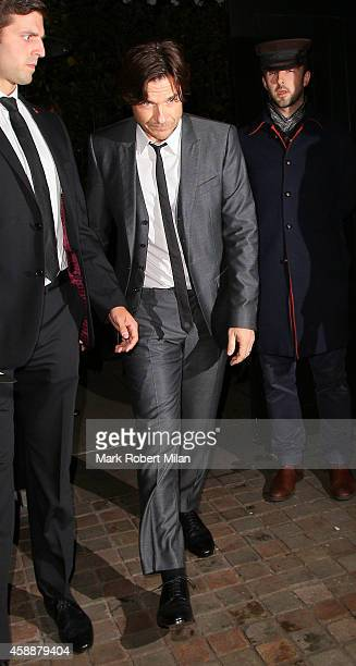Jason Bateman at the Chiltern Firehouse on November 12 2014 in London England