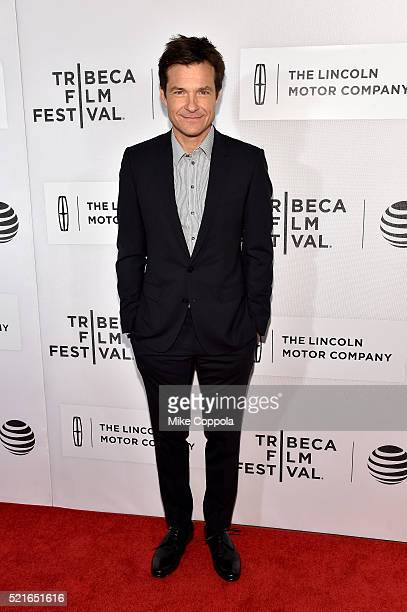 Jason Bateman attends the 'The Family Fang' Premiere 2016 Tribeca Film Festival at BMCC John Zuccotti Theater on April 16 2016 in New York City