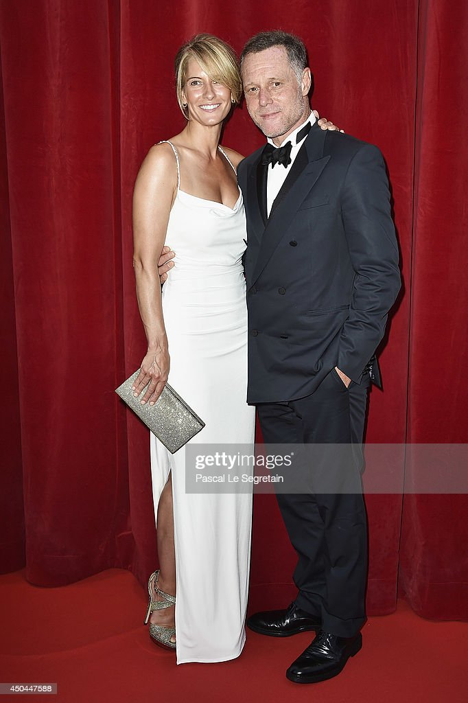 Jason Beghe and his wife arrive at the closing ceremony of the 54th Monte-Carlo Television Festival on June 11, 2014 in Monte-Carlo, Monaco.