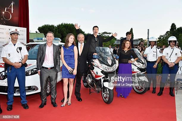 Jason Beghe Dick Wolf Jon Seda and Monica Raymund attend a photocall at Grimaldi forum on June 9 2014 in MonteCarlo Monaco