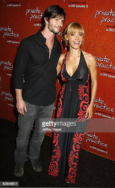 Jason Behr and KaDee Strickland arrive to 'Private Practice The First Season Extended Edition' DVD Launch Event at the Tropicana Bar in the Roosevelt...