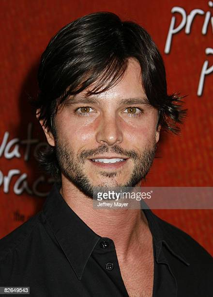 Jason Behr arrives to 'Private Practice The First Season Extended Edition' DVD Launch Event at the Tropicana Bar in the Roosevelt Hotel on September...