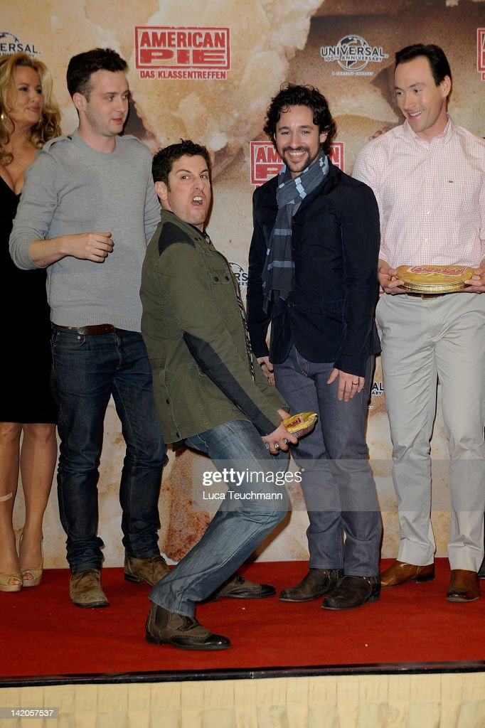 Jason Biggs attends the photocall of 'American Reunion' at Ritz Carlton on March 29 2012 in Berlin Germany
