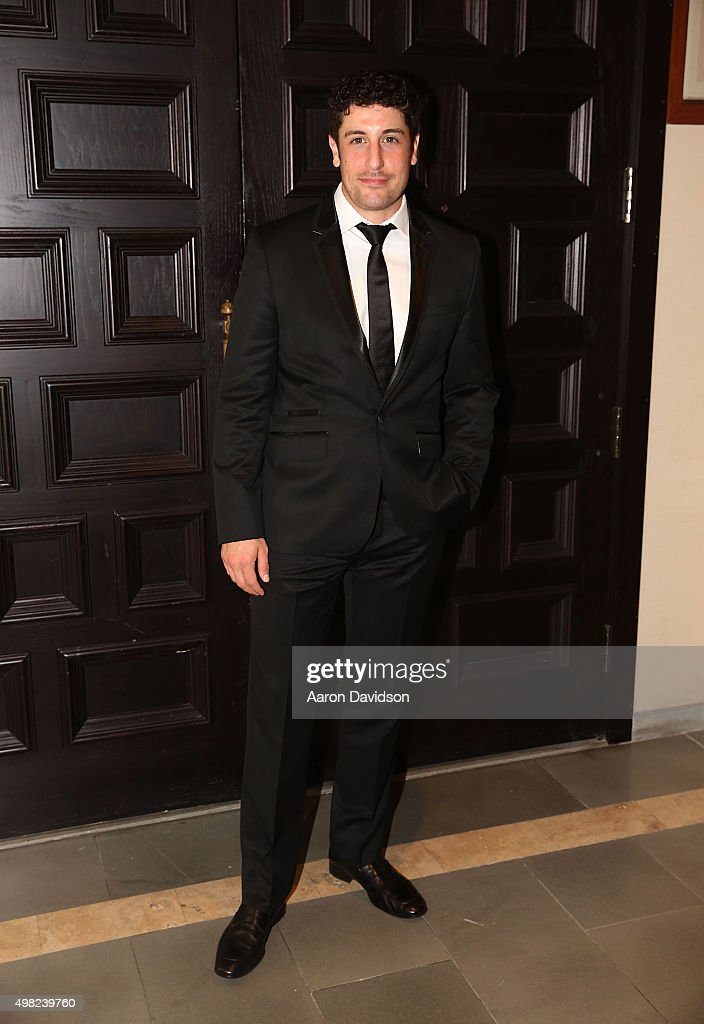 Jason Biggs, participates in 2015 Chris Evert/Raymond James Pro-Celebrity Tennis Classic at Boca Raton Resort on November 21, 2015 in Boca Raton, Florida.