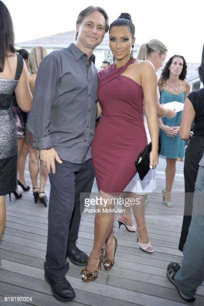 Jason Binn and Kim Kardashian attend QVC Style Initiative Dinner hosted by CEO Mike George at the home of Dennis Basso and partner Michael Cominotto...