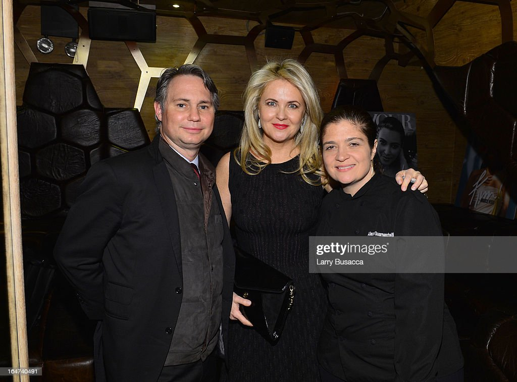 Jason Binn, Cornelia Guest and Alexandra Guarnaschelli attend the DuJour Magazine Spring 2013 Issue Celebration at The Darby on March 27, 2013 in New York City.