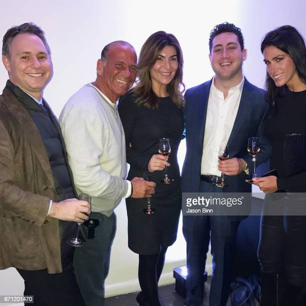Jason Binn Guest Rolls Royce's Tamara Grove Manhattan Motor Cars' Adam Weinstein Rolls Royce's Jaclyn Marie Johnston circa February 2017 in New York...