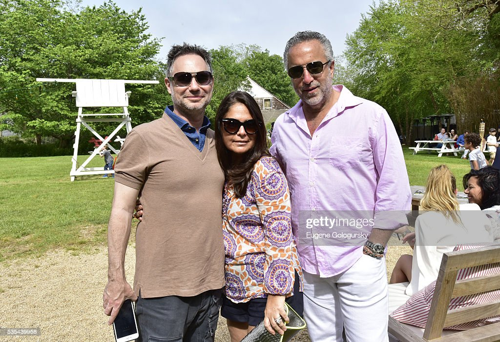 Jason Binn, Melissa Pordy and Richard Lefkowitz attend as Jason Binn hosts his Annual Memorial Day Party with DuJour Media's Leslie Farrand and Moby's sponsored by Rolls-Royce and Empire CLS on May 29, 2016 in East Hampton.