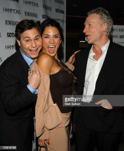 Jason Binn Rochelle Brewster and Bill Maher during Los Angeles Confidential Magazine Celebrates the World Premiere of Comedy Central's 'Kid...