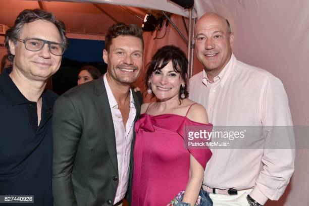 Jason Binn Ryan Seacrest Lisa PevaroffCohn and Gary Cohn attend Sixth Annual Hamptons Paddle and Party for Pink Benefitting the Breast Cancer...