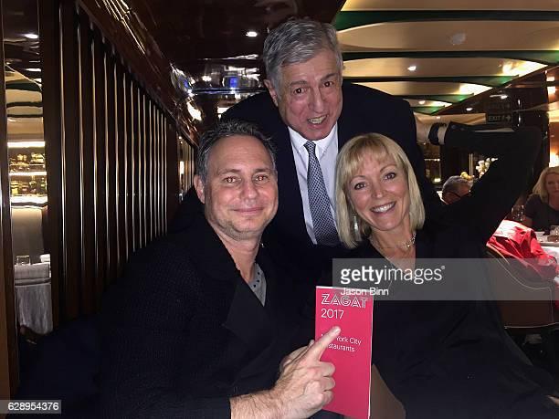 Jason Binn Zagat Restaurant Surveys Founder Tim Zagat Guest circa October 2016 in New York City