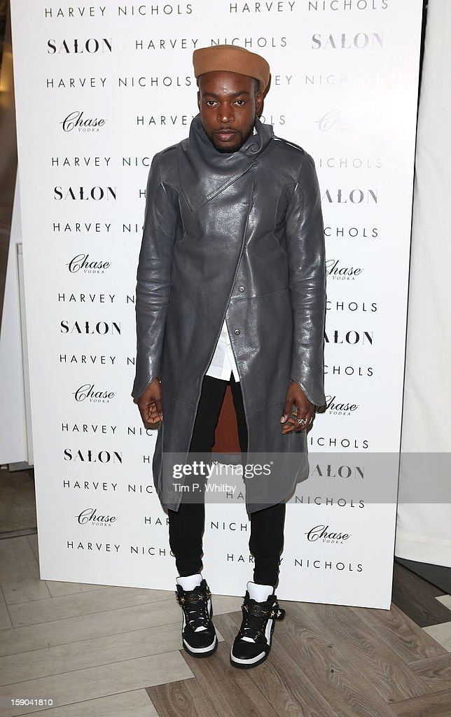 Jason Boateng attends the launch of 1205 Paula Gerbase Hosted By Harvey Nichols ahead of the London Collections: MEN AW13 at Harvey Nichols on January 6, 2013 in London, England.