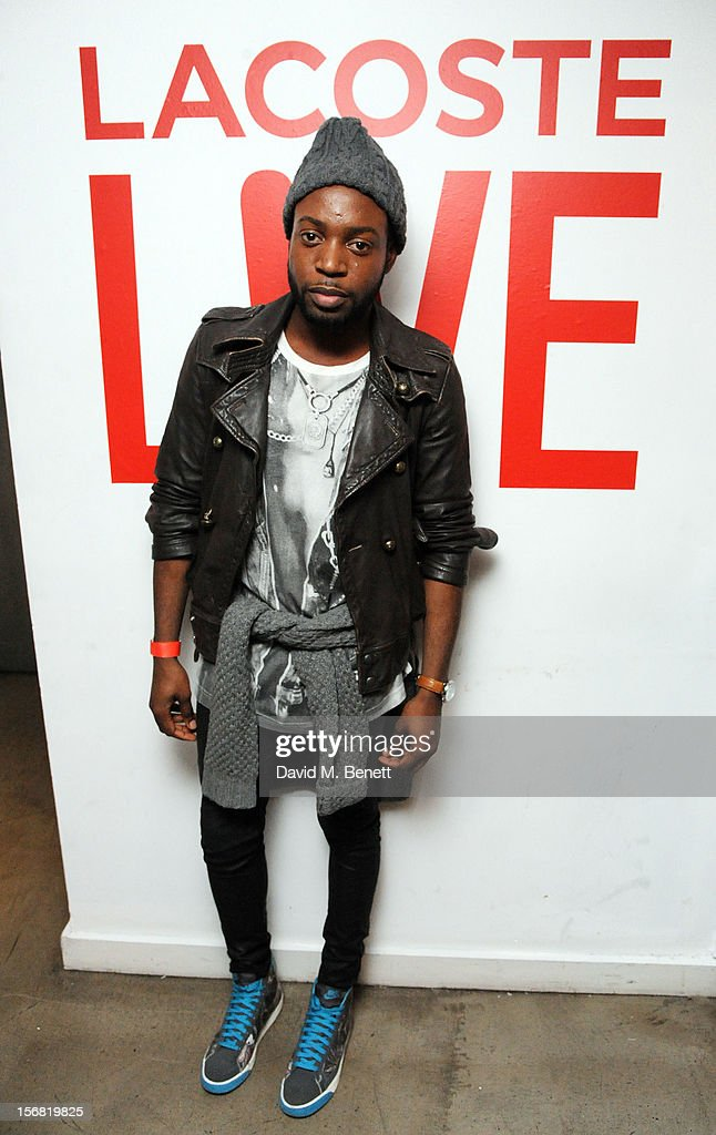 Jason Boateng attends the launch of Lacoste L!VE at Shoreditch House on November 21, 2012 in London, England.