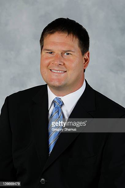 Jason Botterill of the Pittsburgh Penguins poses for his official headshot of the 201011 season on September 18 2010 at the Consol Energy Center in...