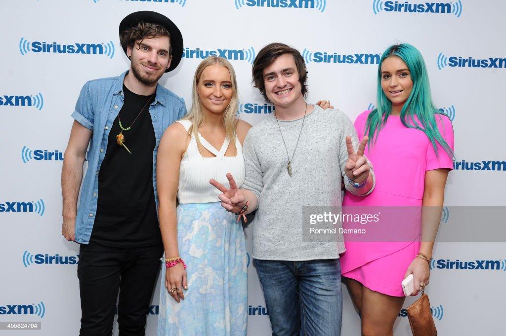 Celebrities Visit SiriusXM Studios - September 12, 2014