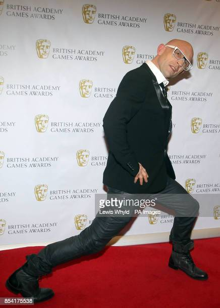 Jason Bradbury attending the British Academy Video Games Awards at the London Hilton Park Lane London PRESS ASSOCIATION Photo Picture date Tuesday...
