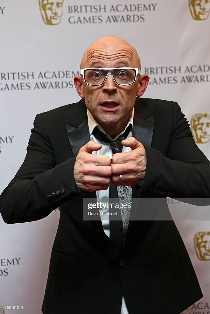 Jason Bradbury attends The British Academy Games Awards at London Hilton on March 5, 2013 in London, England.