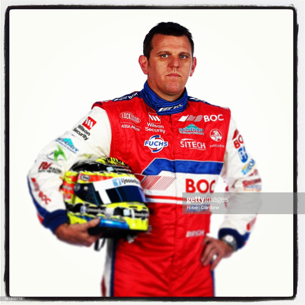 Jason Bright of Brad Jones Racing poses during a V8 Supercars driver portrait session at Eastern Creek on February 15, 2013 in Sydney, Australia.