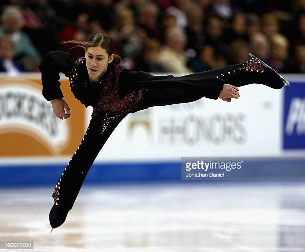 Jason Brown competes in the Men's Short Program during the 2013 Prudential US Figure Skating Championships at CenturyLink Center on January 25 2013...
