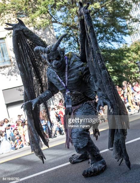 Jason Burton decked out as a Gargoyle during 2017 DragonCon Parade on September 2 2017 in Atlanta Georgia DragonCon is a multimedia convention held...