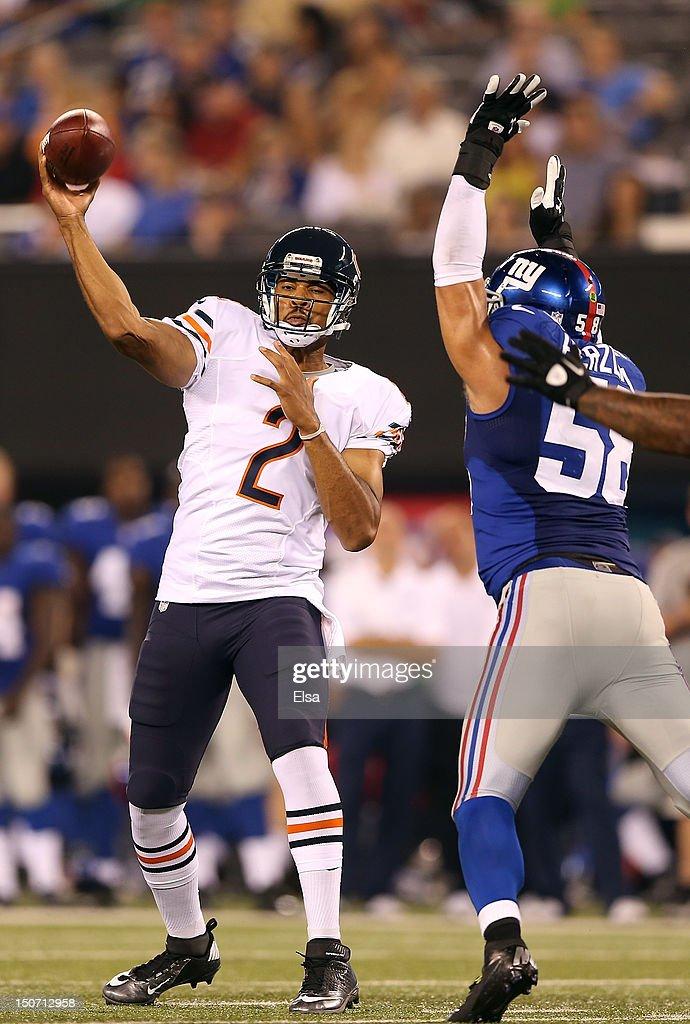 NFL Jerseys Wholesale - Chicago Bears v New York Giants