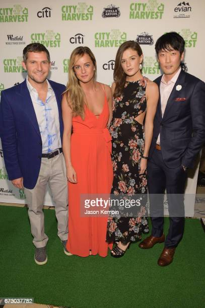 Jason Carroll Alli Morrison Courtney Cady and Stephen Lee attend the City Harvest's 23rd Annual Evening Of Practical Magic at Cipriani 42nd Street on...