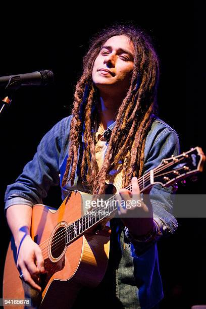 Jason Castro performs live in concert at the Lifestyle Communities Pavilion on December 8 2009 in Columbus Ohio